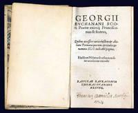 Franciscanus & fratres, Quibus accessere varia eiusdem & aliorum Poëmata [...] Eiusdem Psalmos soersim non sine accessione excudit.