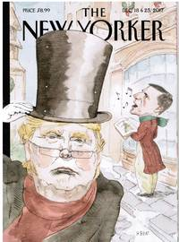 image of NEW YORKER: DONALD TRUMP CHRISTMAS. COVER BY BARRY BLITT