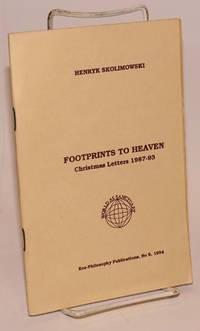 Footprints to Heaven: Christmas letters 1987-93