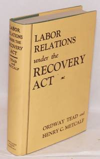 image of Labor relations under the recovery act