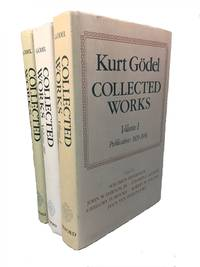 Collected Works Volume I; Collected Works Volume II; Collected Works Volume III; Publications 1929-1936; Publications 1938-1974; Unpublished Essays and Lectures