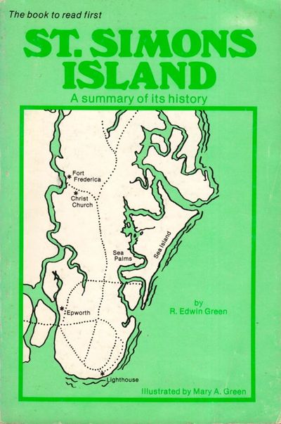 St. Simons, Georgia: Self published, 1982. First Edition. Soft cover. Very good. Soft cover. 87 page...