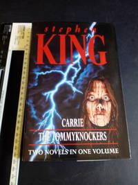 Carrie / The Tommyknockers 1994 1st UK Ed Hodder & Stoughton 1st combined ed