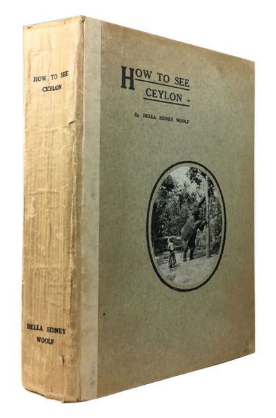Colombo & London: The Times of Ceylon Co, 1929. 4th ed. Hardcover. Very Good. frontis, folding maps,...