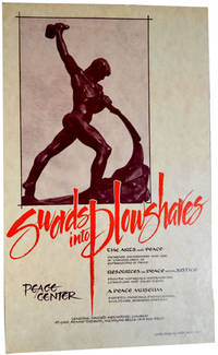 Poster for Swords into Plowshares Peace Center by Swords into Plowshares Peace Center - First Printing - 1985 - from Third Mind Books (SKU: 2688)