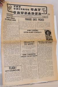 image of Chicago Gay Crusader: the total community newspaper; #10, February 1974: Troy Perry to Speak Here