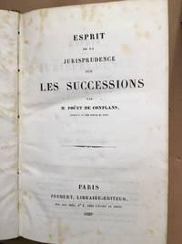 image of Esprit de la jurisprudence sur les successions