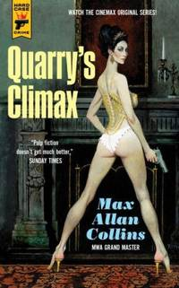 Collins, Max Allan | Quarry's Climax | Signed First Edition Trade Paper Book