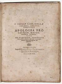 Apologia pro Galileo, Mathematico Fiorentino. Ubi disquiritur, utrum ratio philosopahndi, quam Galileus celebrat, faveat sacris scripturis, an adversetur.