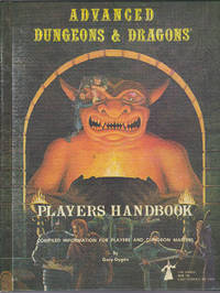 Advanced Dungeons & Dragons, Players Handbook, 2nd printing, September 1978