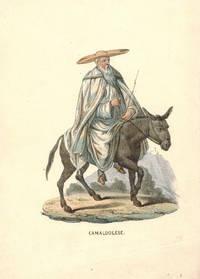 'Camaldolese' Monk on donkey.