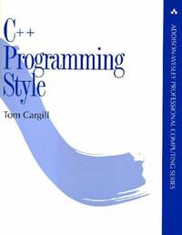 C++ Programming Style (APC)