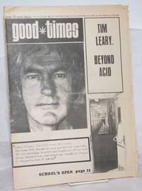 image of Good Times: vol. 3, #37, Sept. 18, 1970: Tim Leary; Beyond Acid