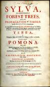 View Image 2 of 4 for Sylva, or a Discourse of Forest-Trees, and the Propagation of Timber in His Majesties Dominions...Te... Inventory #046879