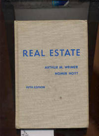 REAL ESTATE by  Homer  Arthur M. and Hoyt - from poor mans books (SKU: 5514)