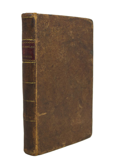 First Edition of an Early American Songster . . The Philadelphia Songster, or, a complete vocal pock...