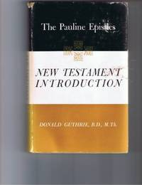 image of The Pauline Epistles; New Testament Introduction