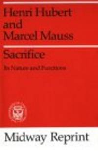 Henri Hubert; Marcel Mauss; Translator-W. D. Halls