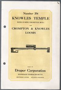 image of Illustrated Catalog Hand out for Knowles Temple with 12 Ring Crompton Roll