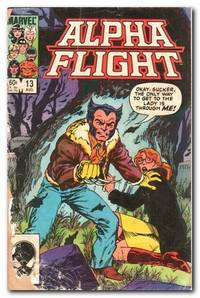 image of Alpha Flight # 13 August 1984