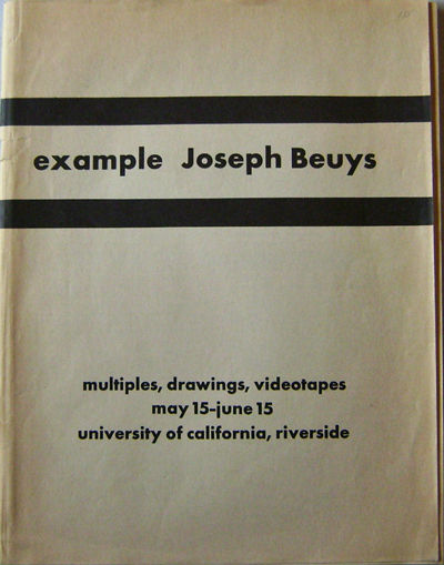 Riverside: University of California, No Date. First edition. Paperback. Good +. 4to. printed on inex...