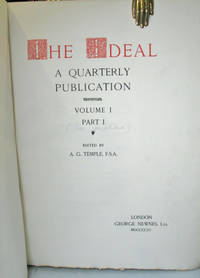 The Ideal. A Quarterly Publication. Volume I, Part I.