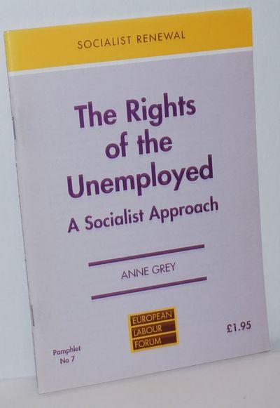 Nottingham: Spokesman for European Labour Forum, 1996. Pamphlet. 40p., 5.75x8.25 inches, staplebound...