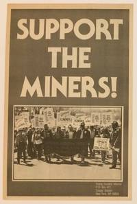 image of Support the Miners [brochure unfolding to make a poster]