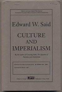 culture and imperialism a review of edward said essay Judicial review cause of action  to culture, and politics imperialism is all about the power that the larger nation has  according to the late edward said,.