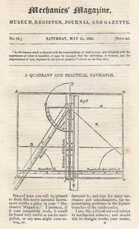 A Quadrant And Practical Navigator; New Rule For Measuring Round Timber; New Metal-Jointing...