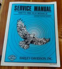 image of Harley-Davidson Service Manual 1986 to 1990 XLH Models