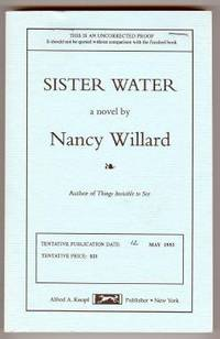 NY: Knopf, 1993. Uncorrected proof of first edition. Printed wraps. Signed by Willard on the title p...