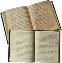 Manuscript Lecture Notes on Ancient Civilizaions from the Teachings of Professor Marc Petit de Baroncourt, Collège Bourbon, La Réunion, 1842-45.