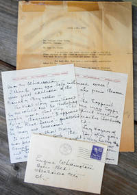 Autograph letter, signed to \