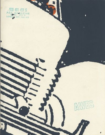 London, Ont: Canyon Production (Canada), The Awes Studio, 1977. First edition. Ross, Phillip. 4to., ...