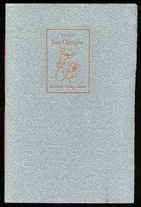 Saratoga Springs: Skidmore College, 1975. Softcover. Fine. First edition. Fine in sewn wrappers. One...