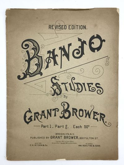 Brooklyn: Grant Brower, 1894. Folio (12 x 9 inches). 24 pp. Musical notation. Original printed wrapp...