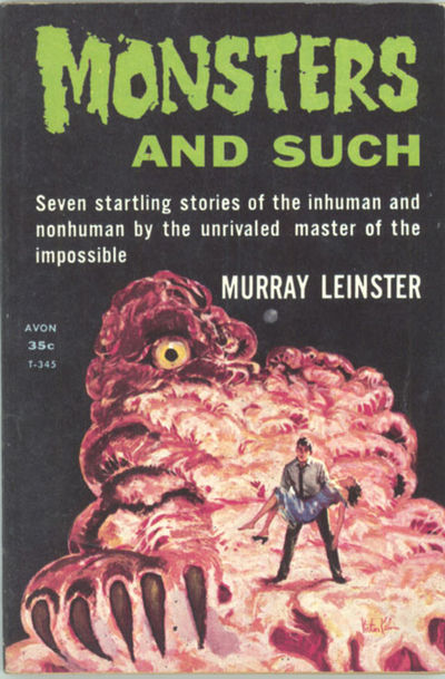 New York: Avon Book Division, 1959. Small octavo, pictorial wrappers. First edition. Avon Books T-34...