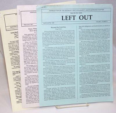 Santa Barbara: the newsletter, 1991. Three issues of the 8.5x11 inch staplebound newsletter; vol. 3 ...