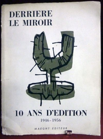 Paris: Maeght, 1956. First edition. Stiff Wraps. Orig. illustrated stiff wrappers. Very good. 100 pa...