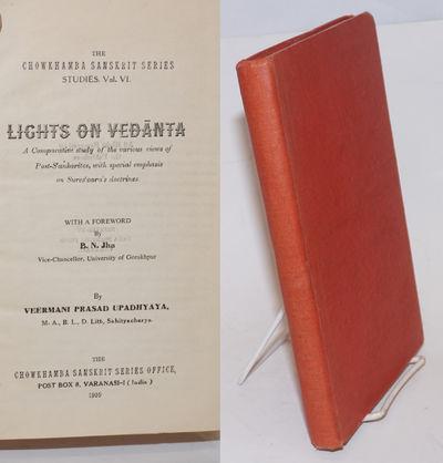 Varanasi: The Chowkhamba Sanskrit Series Office, 1959. iii, xi, 261, 2p., unlettered 9.5x6.5 inch re...