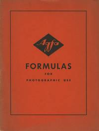 AGFA FORMULAS FOR PHOTOGRAPHIC USE
