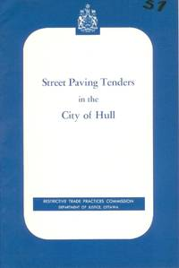 Street Paving Tenders in the City of Hull