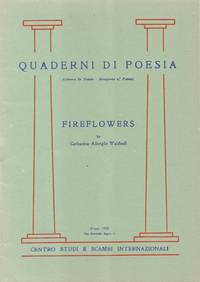 Quaderni Di Poesia (Cahiers De Poésie - Bouquets of Poems) Fireflowers