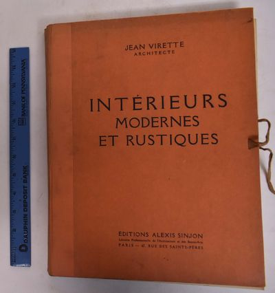 Paris: Editions Alexis Sinjon, 1928. Hardcover. VG- age toning and very light and occassional smudin...