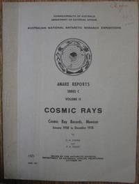 Cosmic Ray Records, Mawson [Antarctica]. January 1958 to December 1958.
