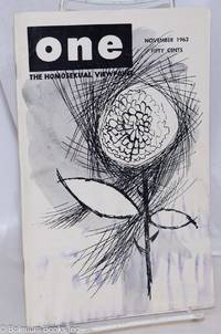 image of One Magazine; the homosexual viewpoint; vol. 11, #11, November 1963
