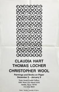Untitled Poster (Christopher Wool Pattern Painting)