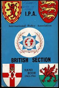image of International Police Association British Section Handbook 1965-1966