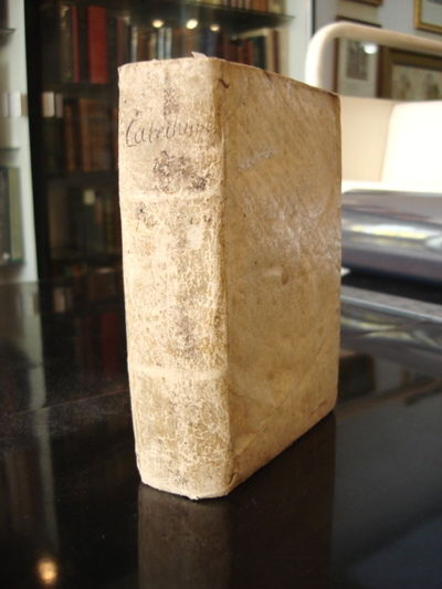 Venice: Agostino Angelieri, 1605. Vellum. Very good. 8vo. (16),578,(26)pp. Text illustrated with 5 f...